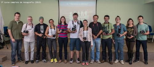Participantes da 5ª edição do Curso Completo de Fotografia com Tiago Degaspari