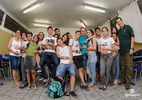 Alunos da Escola Prof. Marciano de Toledo Piza em Rio Claro-SP. DSC_9564_td