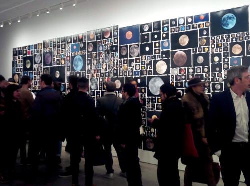 Abertura da exposição em NY (EUA). Credéditos: Penelope Umbrico
